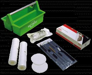 PROLAQ Toolbox mit Zubehör