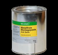 Metallfreie Montagepaste