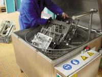 Heißwasser-Teilewaschmaschine 800