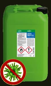 ANTISEPT D - Kunststoff-Kanister 20l
