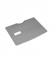 Schutzboden aus Edelstahl Lochblech